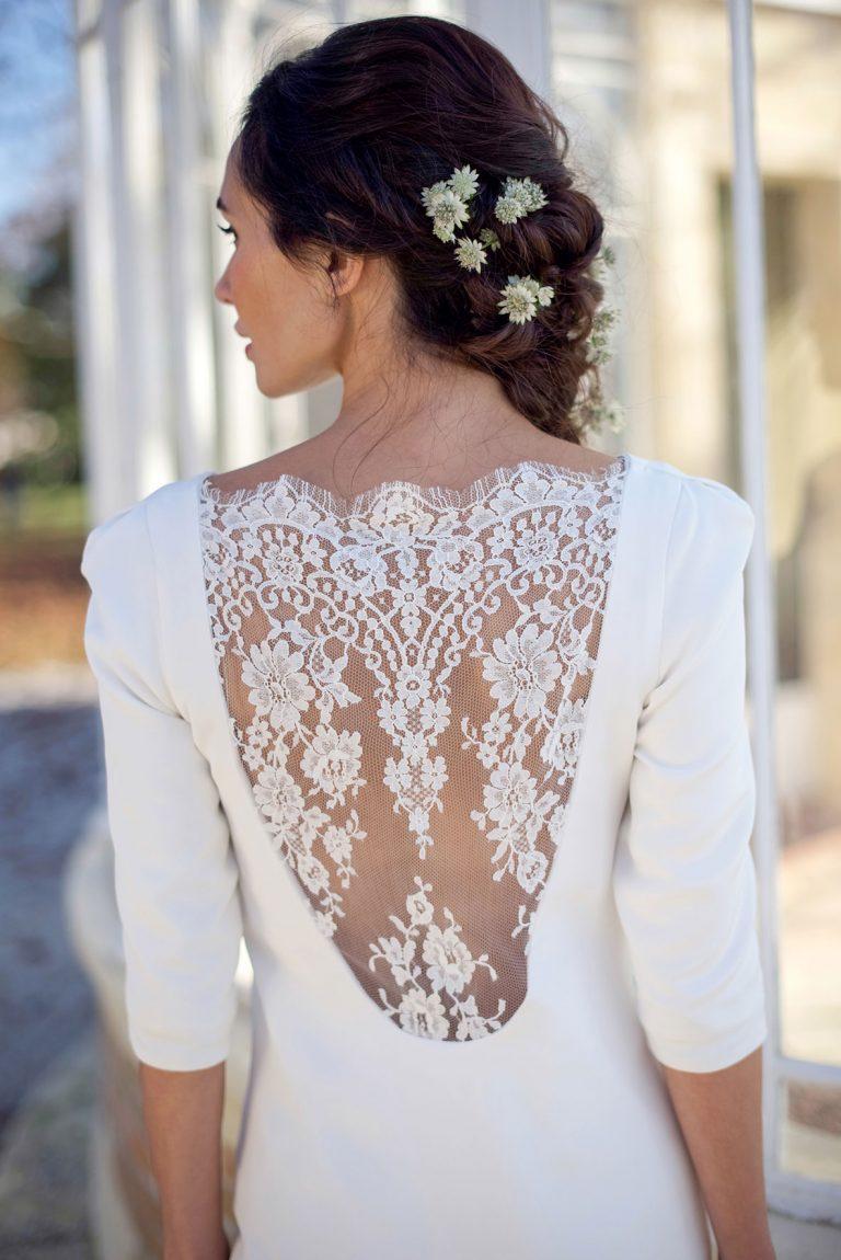 Robe de mariee civile, robe de mariée courte