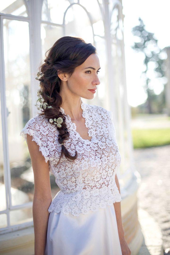 robe de mariee mariée bohème robe sur mesure collection 2018