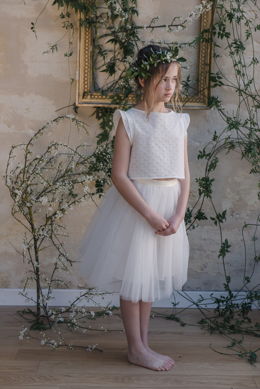 cef2409610a robe ceremonie enfant tenue de cortege jolie robe enfant mariage robe sur  mesure