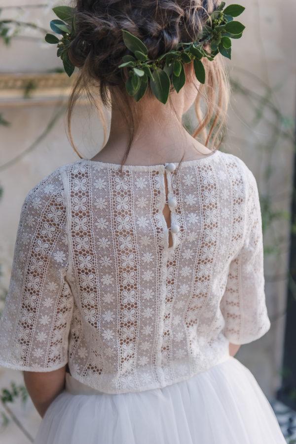 robe ceremonie enfant tenue de cortege jolie robe enfant mariage robe sur mesure