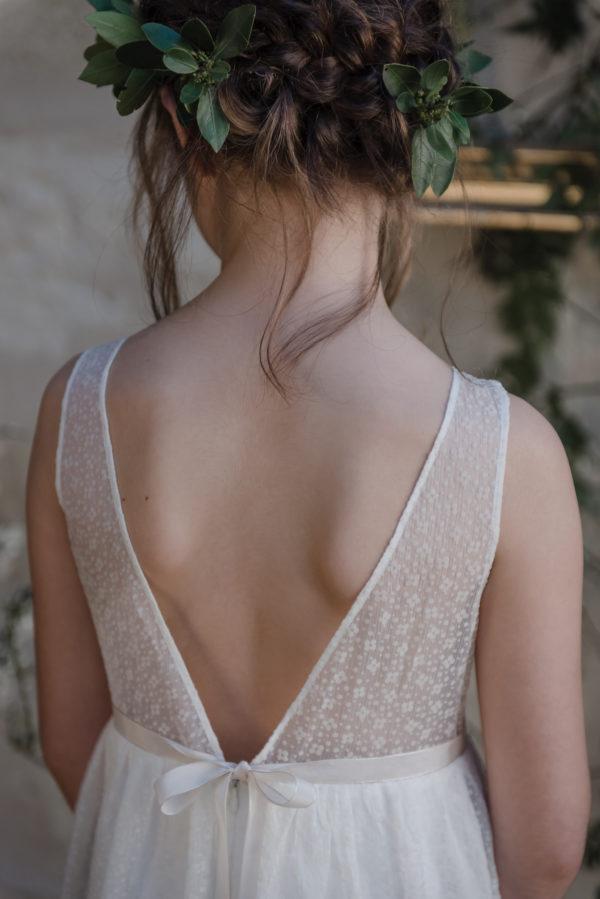 robe ceremonie fille bebe tenue de cortege jolie robe enfant mariage robe sur mesure