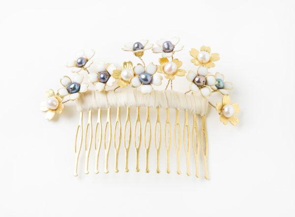 Peigne Aubépine Les Majestés Bijoux de tête Mariage