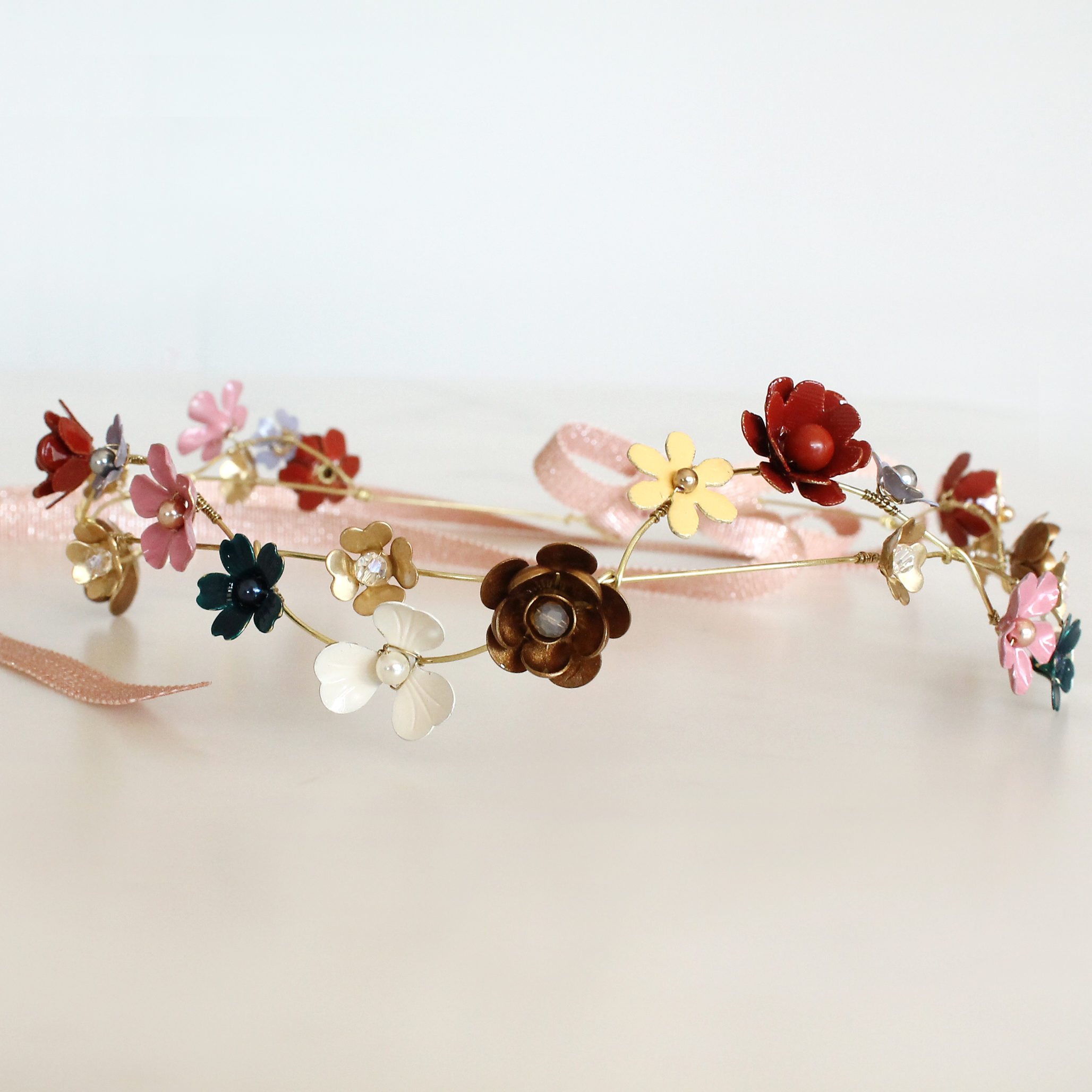 Couronne Mille Fleurs Les Majestés Bijoux de tête Mariage