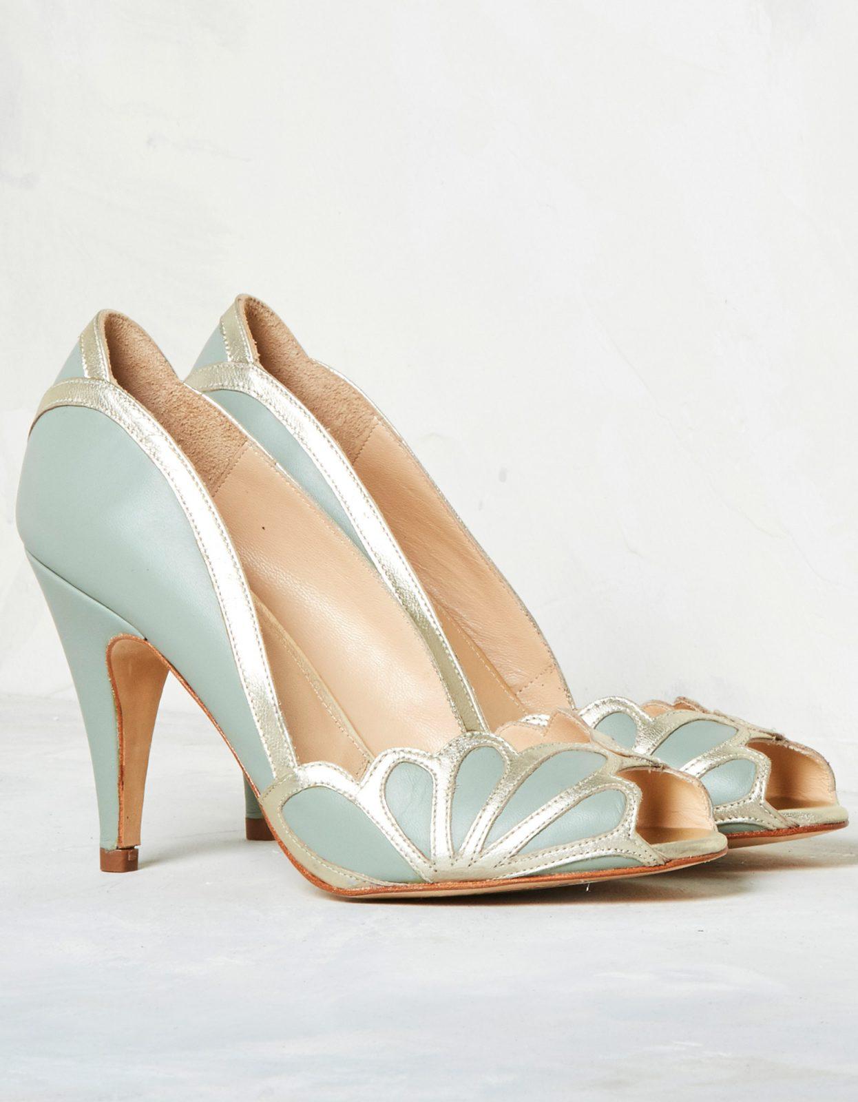 Rachel Simpson France chaussures de mariée chaussures mariage chaussures vintage