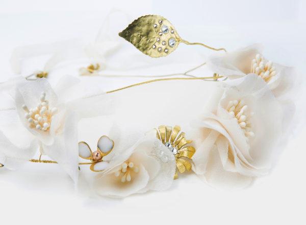 Couronne Rosa Gallica Les Majestés Bijoux de tête Mariage