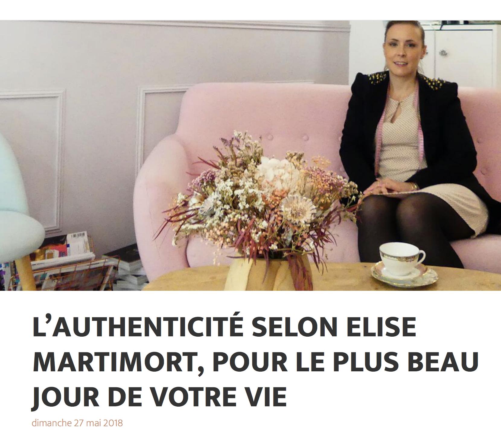 The Authentic Luxury Elise Martimort Robe de Mariée Luxe