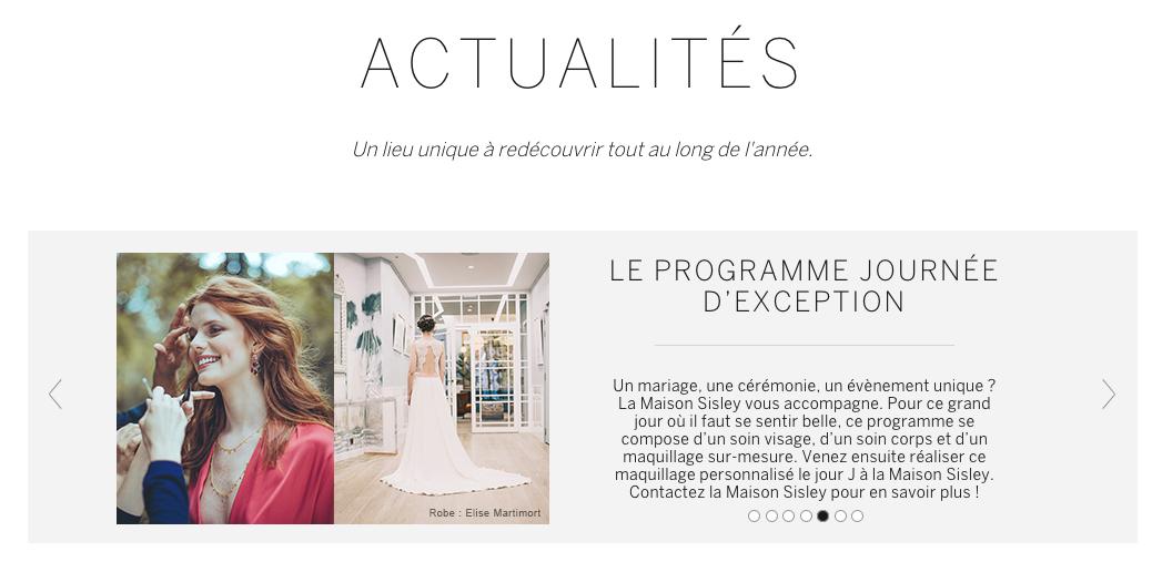 Sisley elise martimort maison sisley robe de mariée 2019 bohème chic luxe futures mariées