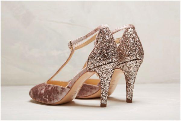 Rachel Simpson Olivia Soft Mauve Chaussure Mariage