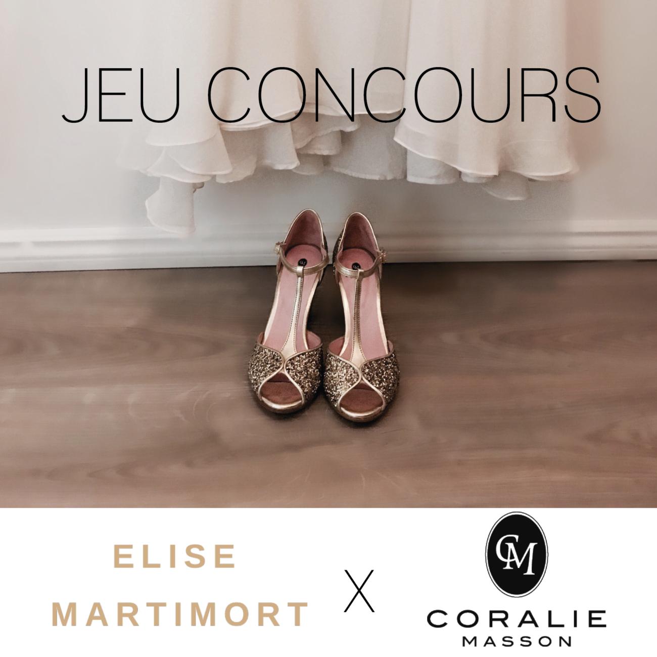Jeu Concours Instagram Coralie Masson X Elise Martimort Salomés Glitter