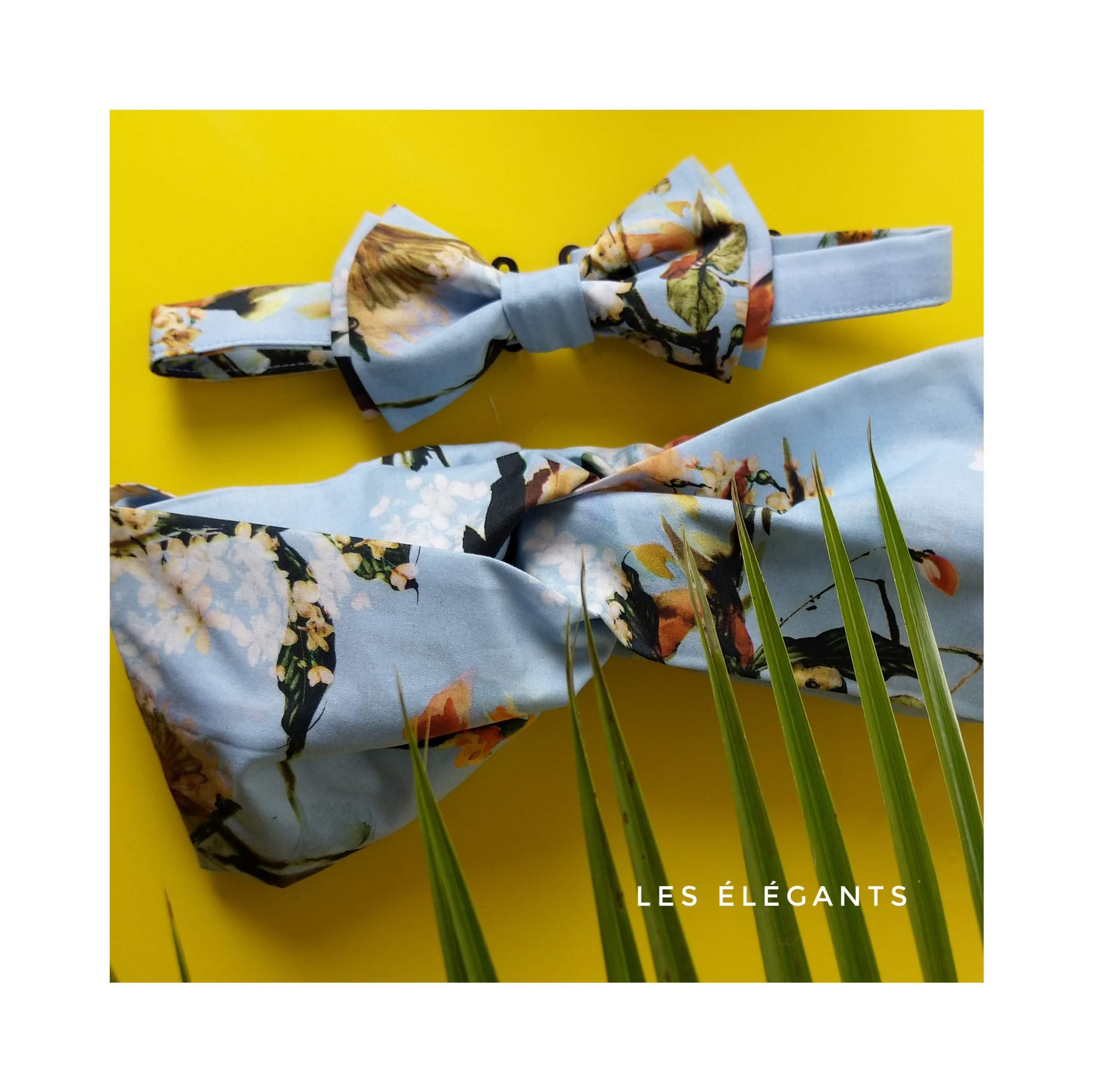 Headband Noeud papillon L'Otarie Club Coffret Mariage
