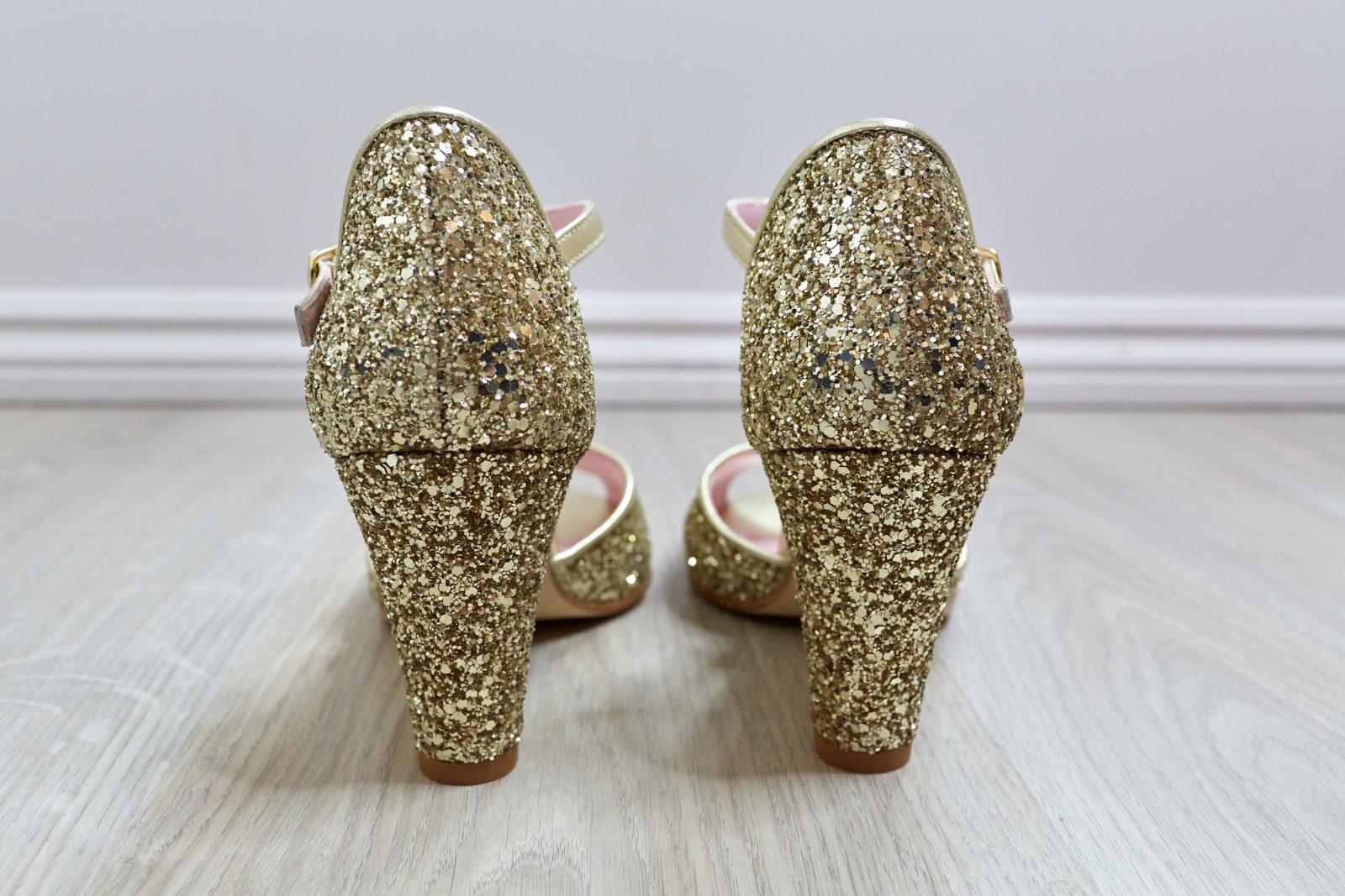 Collaboration Elise Martimort X Coralie Masson Chaussure Glitter Satanas