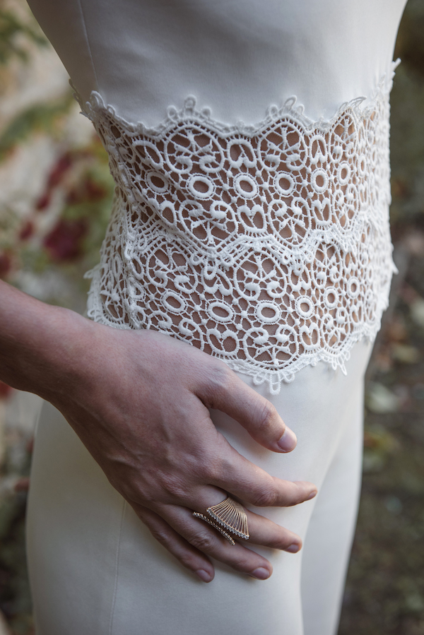 combinaison robe de mariée collection 2019 robe de mariée sur mesure paris
