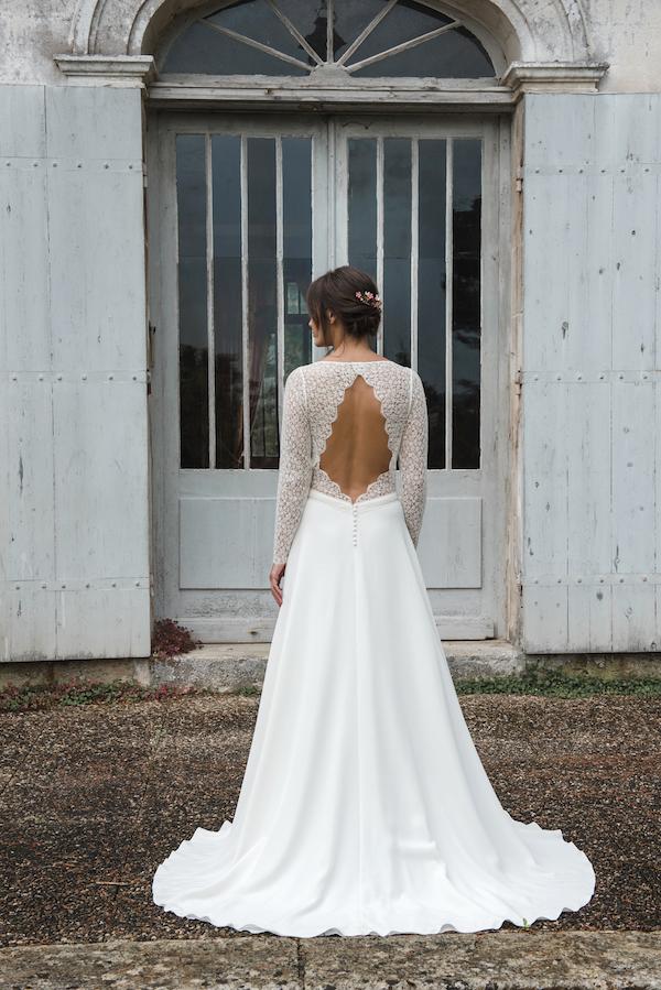 robe de mariée collection 2019 robe de mariée sur mesure paris dos nu