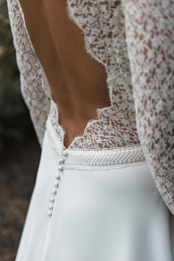 robe de mariée collection 2019 robe de mariée sur mesure paris dos en dentelle