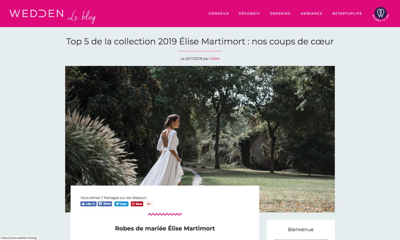 robes de mariée 2019 coups de coeur top 5 weddingdresses