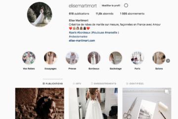 créatrice de robe de mariée instagram plus belles robes de mariée 2019