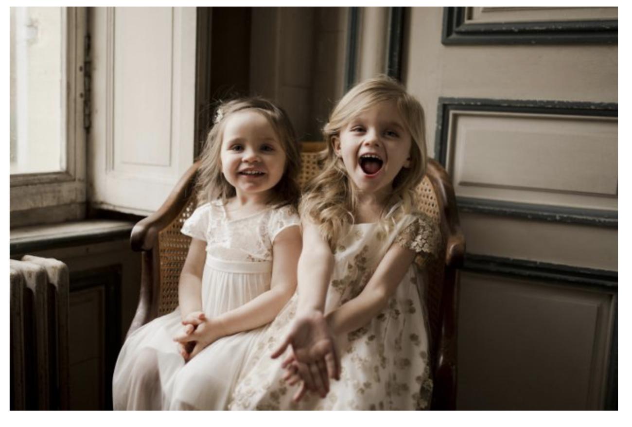 robe de cérémonie enfant robe enfant mariage sur mesure