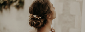 Lizeron bijoux de tete mariee mariage fait main made in France