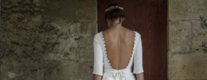 Back To Glam soutien gorge dos nu robe de mariee elise Martimort