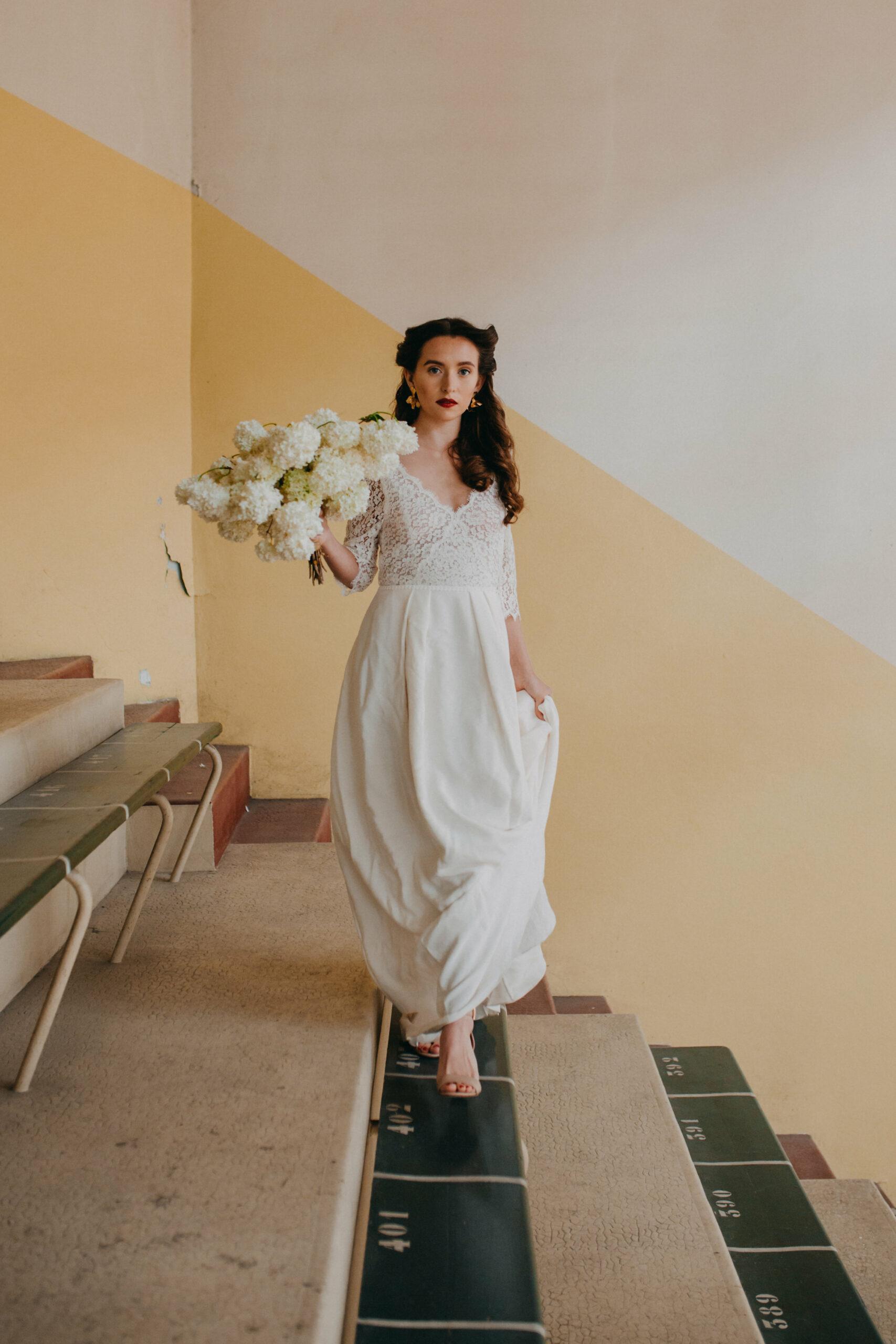 Robe de mariee Hannah robe de mariee sur mesure