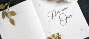 ex-anima faire part carte de voeux mariage collaboration elise Martimort