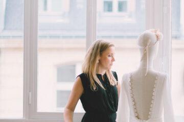 elise Martimort portrait creatrice de robe de mariee sur mesure