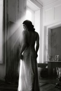 robe haute couture de soiree robe Anne elise Martimort creatrice de robe de marine sur mesure capsule couture