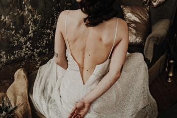 shooting inspiration robe de mariee sur mesure elise Martimort