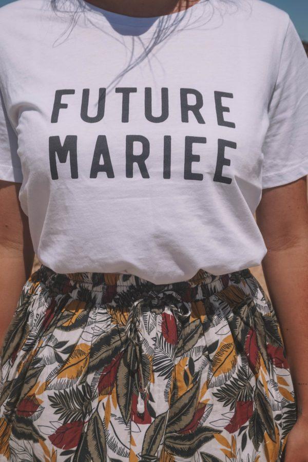 t-shirt future mariee future marie evjf duodem elise Martimort robe de mariee sur mesure
