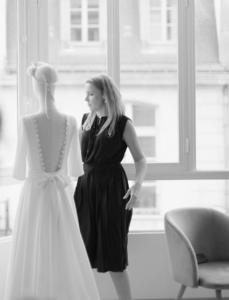 elise Martimort creatrice de robe de mariee sur mesure portrait bordeaux paris