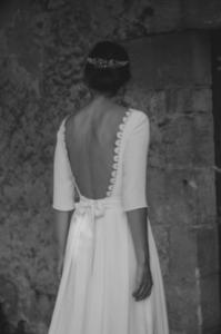 robe de mariee Joséphine elise Martimort creatrice de robe de marine sur mesure