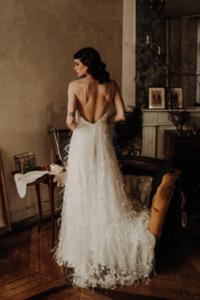robe de mariee Ornella elise Martimort creatrice de robe de marine sur mesure