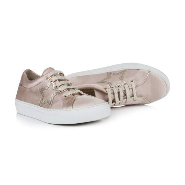 Rachel Simpson France chaussures de mariee doree chaussures mariage chaussure vintage basket mariage