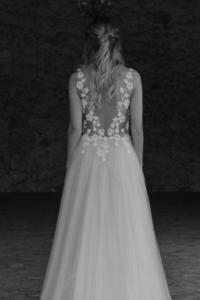 robe de mariee Sarah elise Martimort creatrice de robe de mariee sur mesure