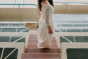 robe de mariee elise Martimort shooting le wedding magazine robe Hannah