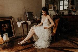 robe de mariee robe de cocktail sur mesure elise Martimort créatrice de robes de mariee capsule coutre modele Ornella