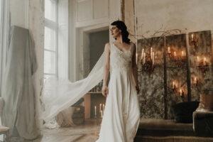 robe de mariee robe de cocktail sur mesure elise Martimort créatrice de robes de mariee capsule coutre modele Delphine