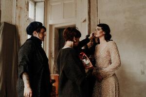 coulisses shooting capsule couture partenaires elise Martimort