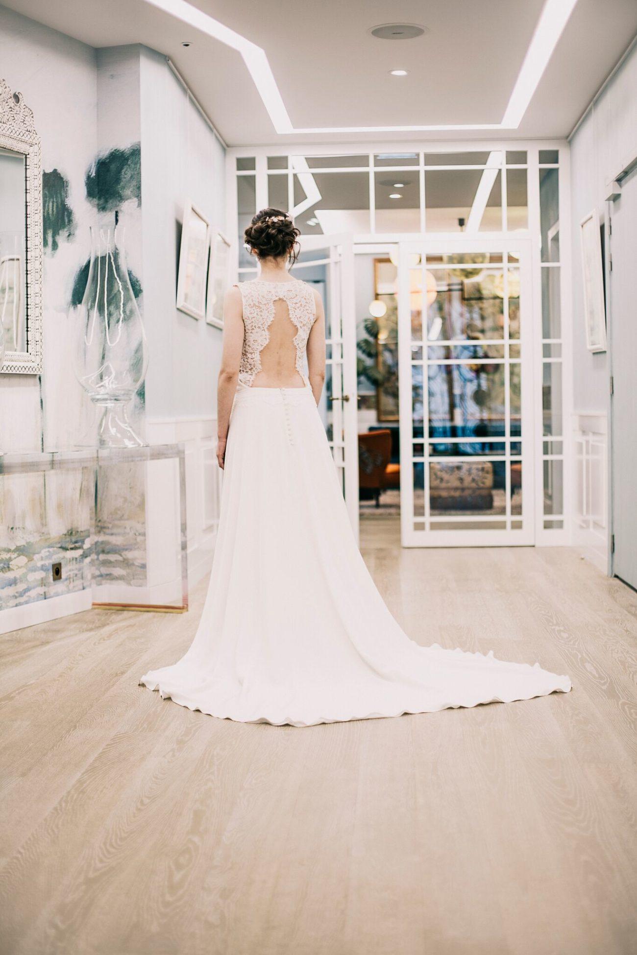 shooting sisley robe de mariee soin mariage