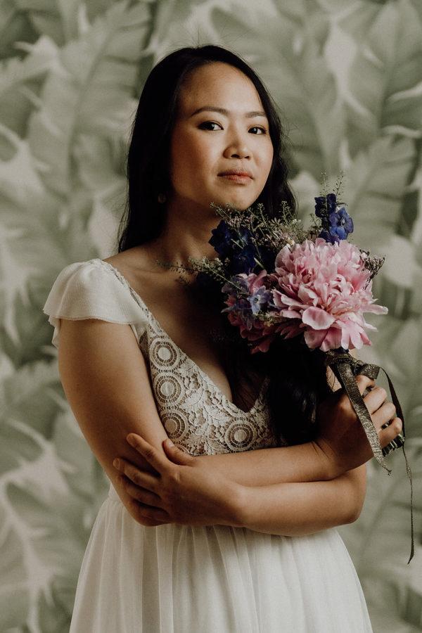 creatrice de robe de mariee paris bordeaux sur mesure Robe de mariee civile - Elise Martimort robe de mariage courte