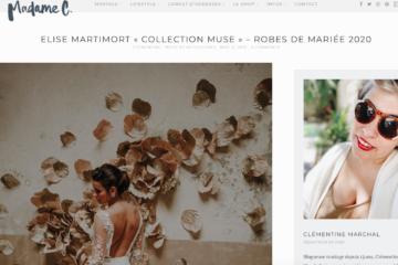 collection robe de mariees sur mesure, blogueuse Madame C, robes sur mesure
