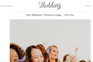 wedding magazine collection civile Elise Martimort