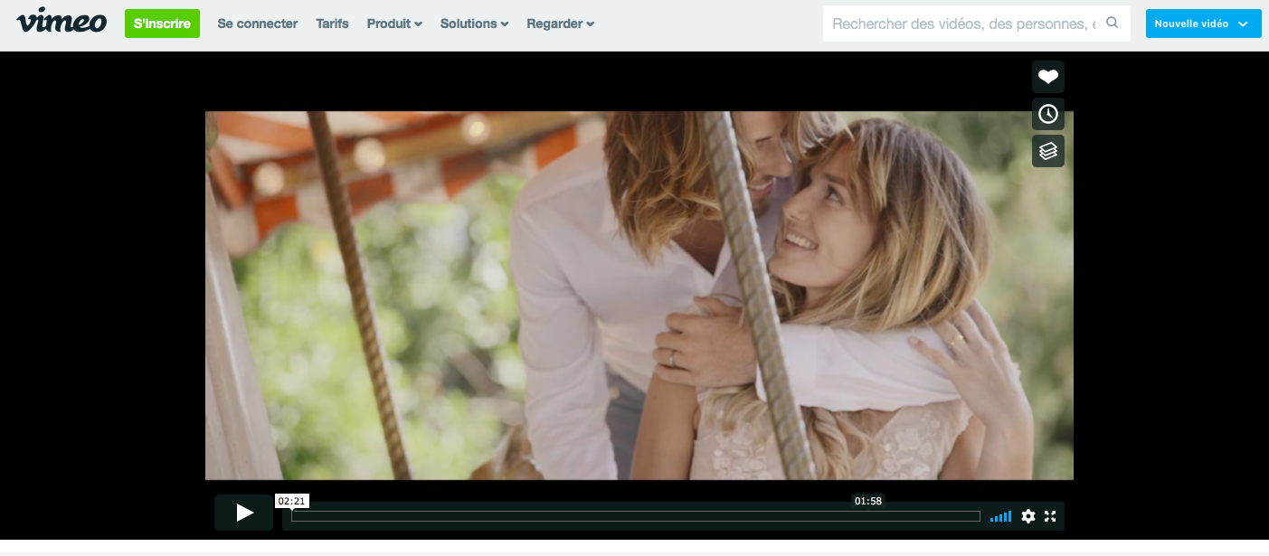 lien video shooting inspiration agence Daylove Event Elise Martimort