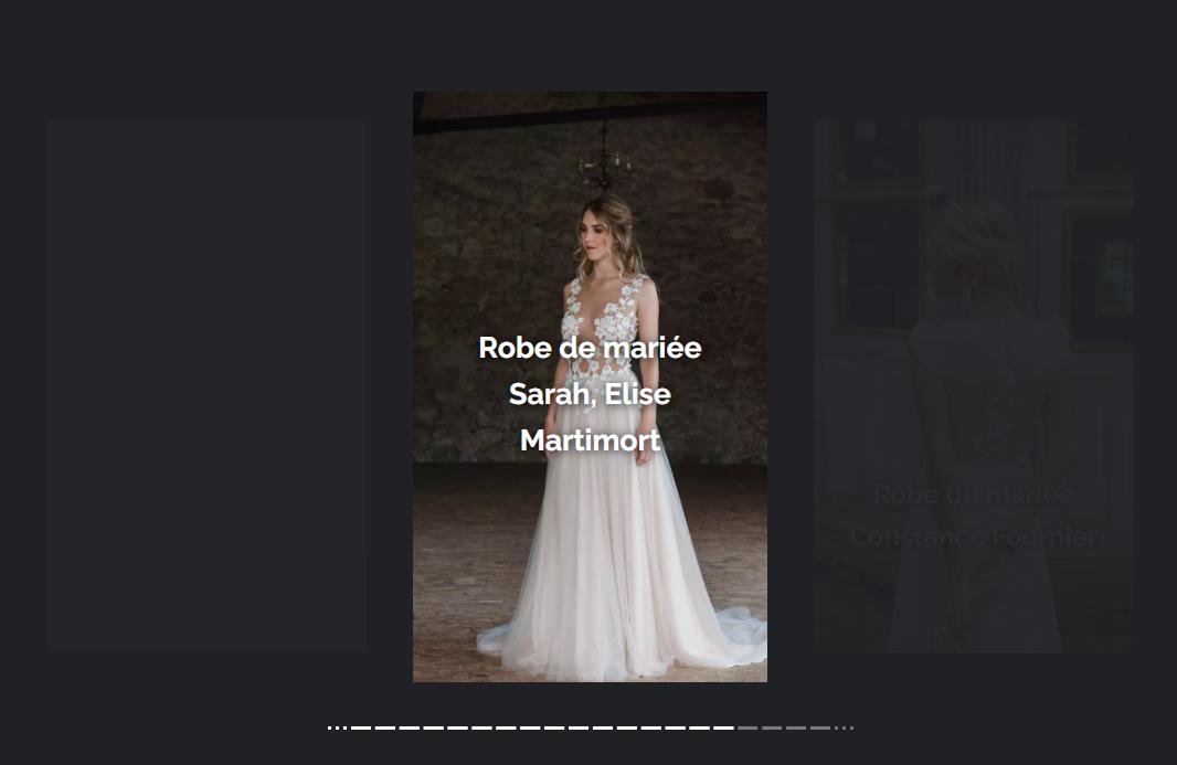 La robe Sarah dans le guide des plus belles robes de mariées