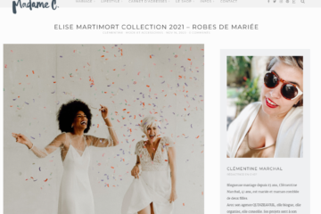 blog de mme c shooting 2021 nouvelle collection robes de mariees elise martimort
