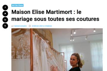 """Un bel article sur la Maison Elise Martimort est à découvrir sur """"Bordeaux Gazette"""""""