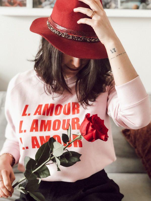 Prêt a porter Sweat L'amour Duodem E-shop Elise Martimort