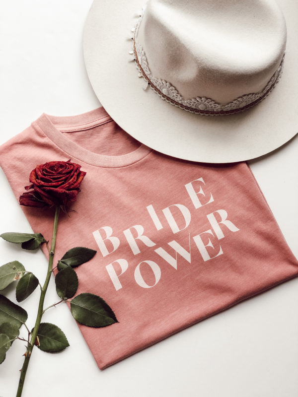 Prêt a porter T-shirt Bride Power Duodem E-shop Elise Martimort