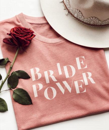 Prêt a porter T-shirt Bride Power Duodem E-shop Elise Martimort