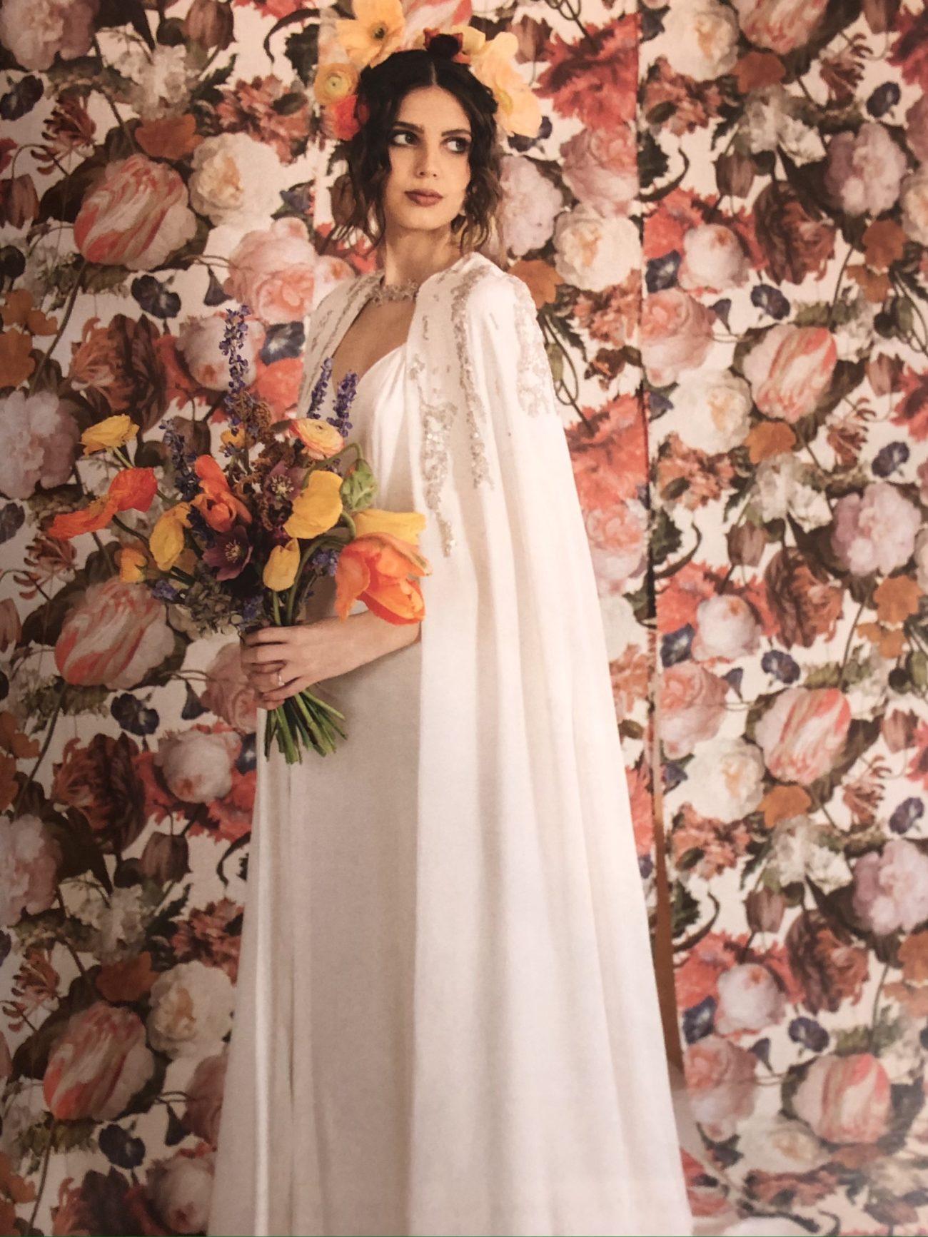 Wedding Magazine- Voile, capes, robes de mariées sur mesure Elise Martimort